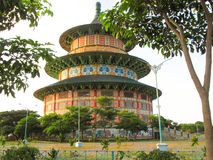 Pagode Kenjeran Surabaya Stockbild