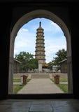 Pagode in KONINKLIJKE TUIN IN CHINA Royalty-vrije Stock Foto