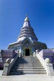 Pagode an Nationalpark Doi Inthanon Lizenzfreies Stockbild