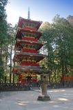 Pagode in Nikko lizenzfreies stockbild