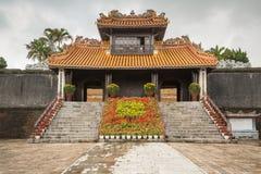 Pagode no túmulo de Khiem da Turquia Duc em Hue Vietnam fotos de stock royalty free