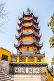 Pagode no templo de Jinshan Foto de Stock Royalty Free