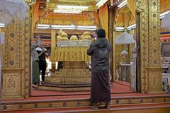 Pagode Phaung Daw Oo Lizenzfreie Stockfotos