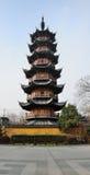 Pagode Shanghai de Longhua Temple Fotos de Stock