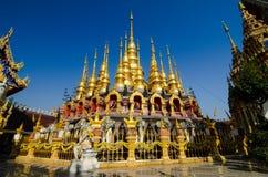 Pagode, sukhothai Tailândia Foto de Stock Royalty Free