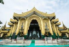 Pagode Tempel Kyauk Taw Gyi in Rangun, Myanmar (Birma) sind sie public domain oder Schatz von Buddhismus Lizenzfreie Stockfotos