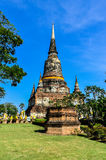 Pagode in tempel Thailand. Stock Afbeelding