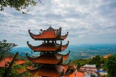 Pagode, templos Ásia vietnam Phan Thiet verão Imagem de Stock Royalty Free