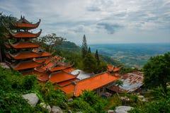 Pagode, templos Ásia vietnam Phan Thiet verão Fotografia de Stock Royalty Free