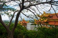 Pagode, templos Ásia vietnam Phan Thiet verão Imagens de Stock Royalty Free