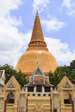 Pagode in Thailand Stock Foto's