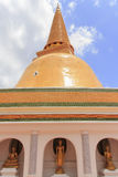 Pagode in Thailand Stock Afbeelding