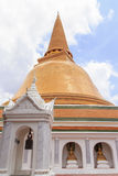 Pagode in Thailand Royalty-vrije Stock Afbeelding