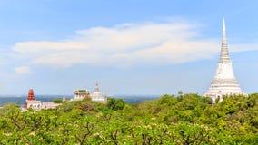 Pagode, Thailand, Himmel Stockfotografie