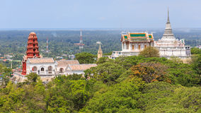 Pagode, Thailand, Himmel Lizenzfreie Stockfotos