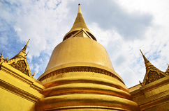 Pagode in Thais Groot Paleis Stock Foto's