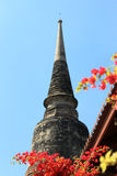 Pagode in Thaise Tempel Stock Afbeelding