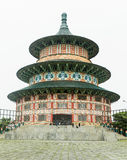 Pagode Tian Ti di Kenjeran in Surabaya, Indonesien stockbild