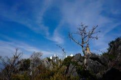 Pagode und Himmel Stockbild