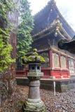 Pagode und japanischer shintoistischer Schrein lizenzfreie stockfotografie