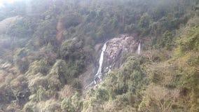 Pagode van de waterval de westelijke hemel Royalty-vrije Stock Afbeelding