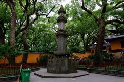 Pagode van FaYu-Tempel Stock Foto's