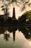 """Pagode van Hanoi Trấn Quá de"""" ` c Royalty-vrije Stock Afbeelding"""