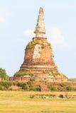 Pagode velho em Tailândia Fotos de Stock Royalty Free