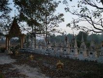 Pagode velho no templo Tailândia Fotos de Stock Royalty Free