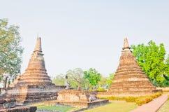 Pagode no templo tailandês, Tailândia Fotografia de Stock Royalty Free