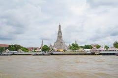 Pagode von Wat-arun Tempel in Bangkok, Thailand lizenzfreie stockfotografie