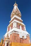 Pagode von Wat Phra That Phanom Lizenzfreies Stockfoto