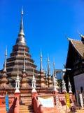 Pagode von watpantao Tempel lizenzfreies stockfoto