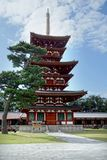 Pagode von Yakushi-jitempel Stockfotos