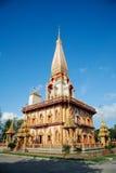 Pagode in Wat Chalong Stockfotos