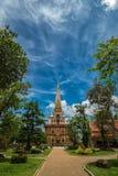 Pagode in Wat Chalong oder im Chaitharam Tempel Lizenzfreie Stockbilder