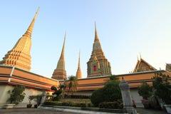 Pagode in Wat Pho Royalty-vrije Stock Fotografie