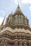 Pagode in Wat Pho in Bangkok, Thailand Stock Foto's