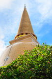 Pagode Wat Phra Pathom Chedi Royalty-vrije Stock Afbeelding