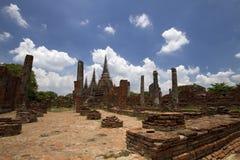 Pagode in Wat Phra Sri Sanphet Stock Fotografie