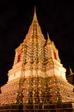 Pagode Wat PO am Tempel stockbild