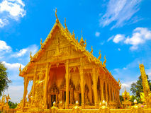 Pagode in wat-Sawangboon in Thailand Stock Foto's