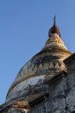 Pagodebovenkant in Bagan Stock Foto's