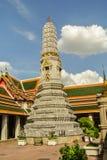 Pagoden är i Wat Pho Bangkok Thailand Royaltyfria Bilder