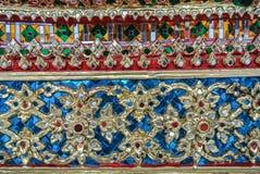 Pagoden är i Wat Pho Bangkok Thailand Royaltyfri Foto