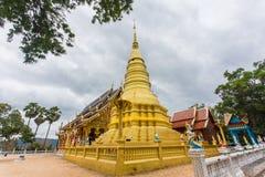 Pagoden av Wat Ban Pang Royaltyfria Foton