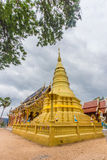 Pagoden av Wat Ban Pang Arkivfoto