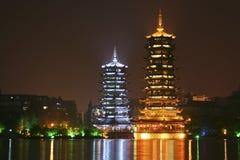 Pagoden in China Stockfoto