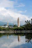 pagoden Dali China Royalty-vrije Stock Foto's