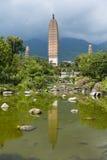 pagoden Dali China Royalty-vrije Stock Foto
